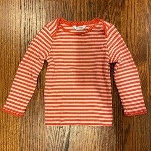 Baby Boden Pointelle Top